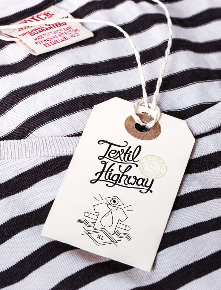 Handlettering, Corporate Design, Editorial Design, Webdesign – Textil Highway