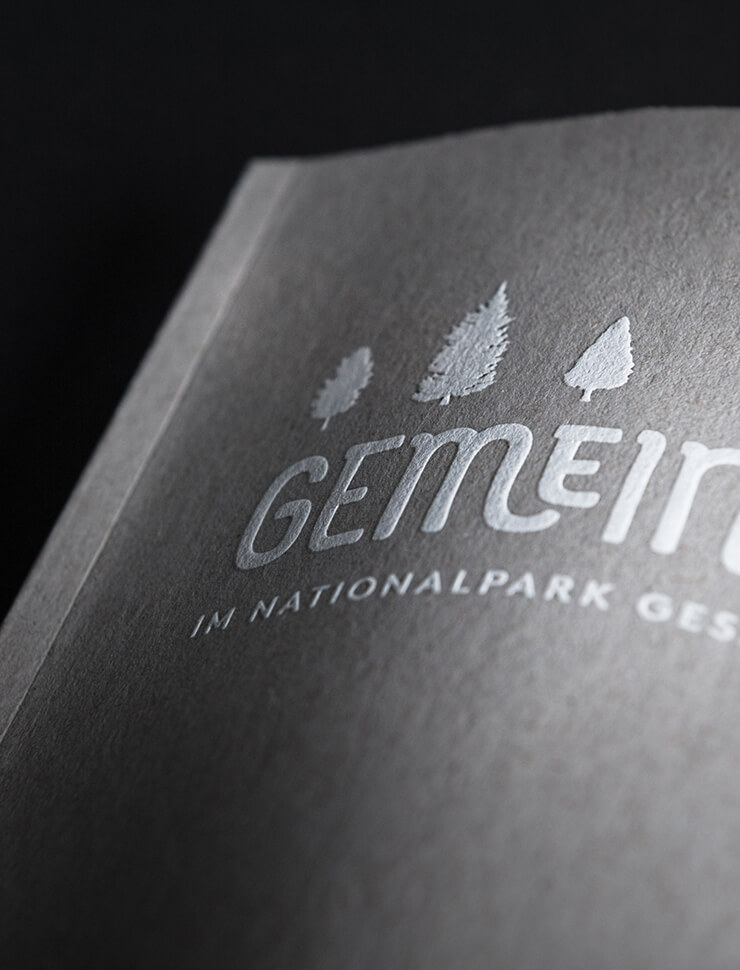 Editorial Design – Nationalpark Gesäuse Partnerbuch