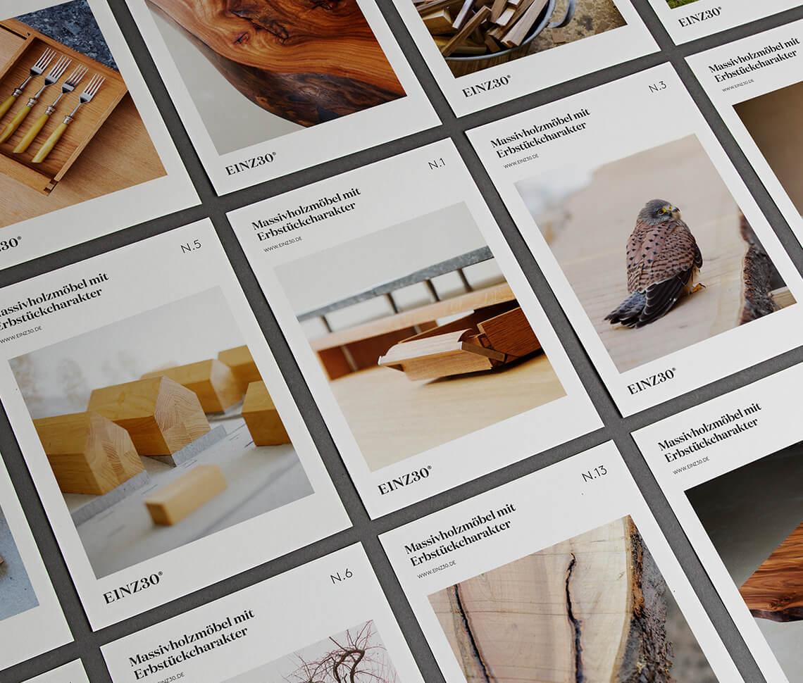 Branding – EINZ30 Holzwerkhof
